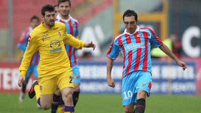 Catania Fiorentina 1-0 highlights sky