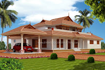 Evens Construction Pvt Traditional Kerala Mix House