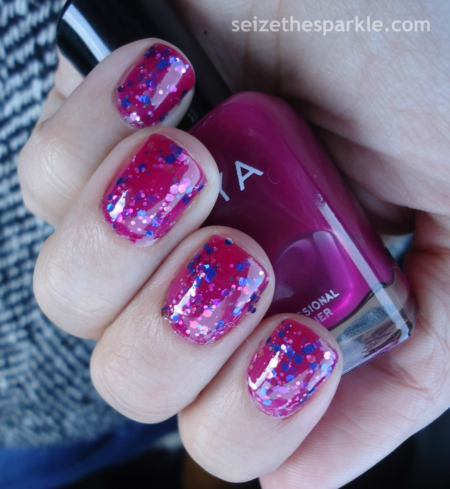 Zoya Paloma, China Glaze Your Present Required