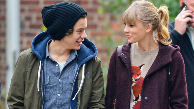 harry styles with his girlfriend taylor swift 2013 harry