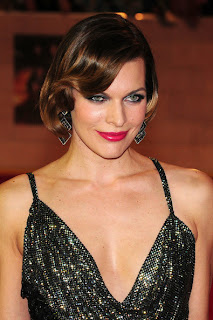 Short hairstyle Inspiration From Celebrity Milla Jovovich