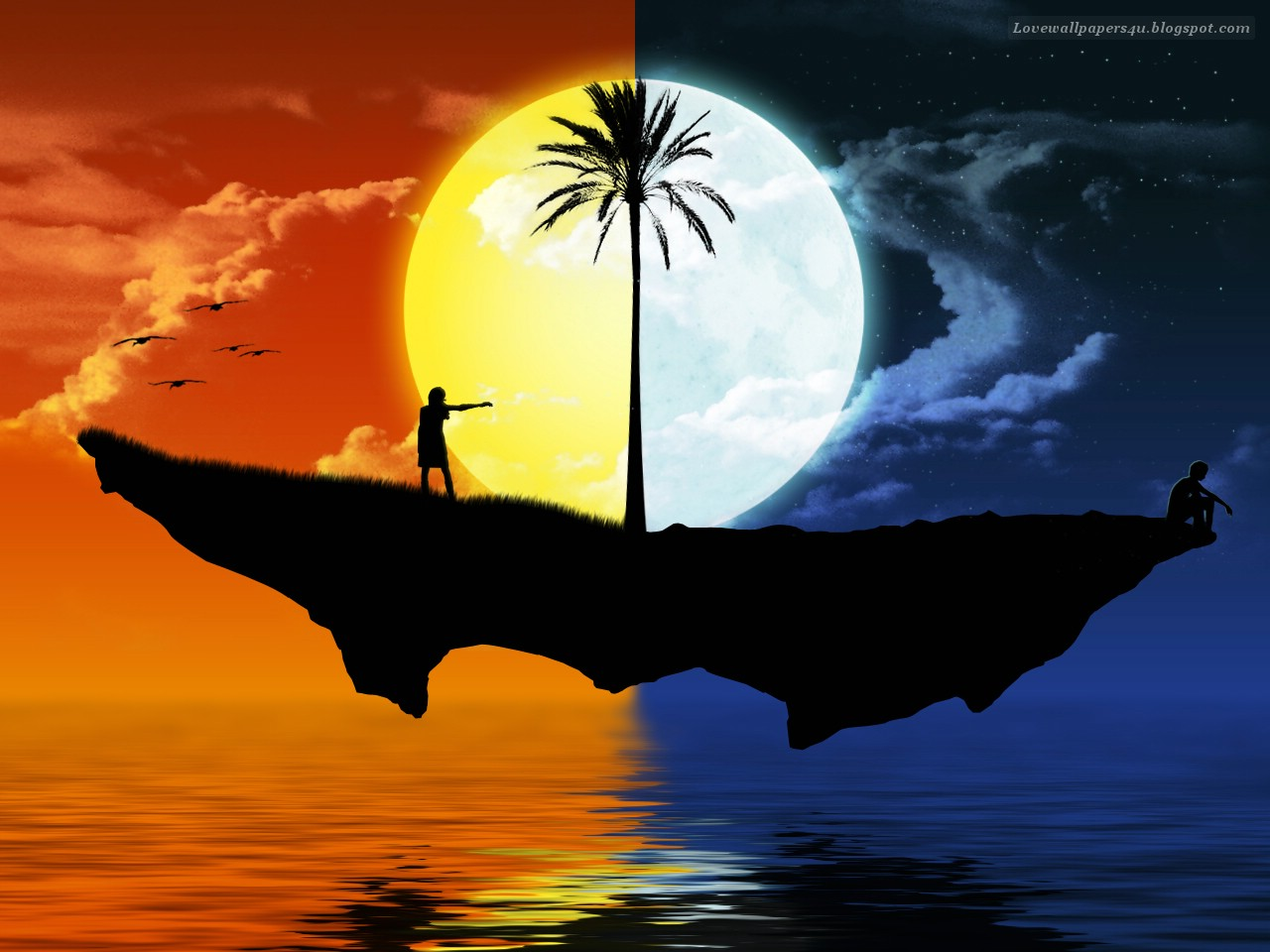different worlds love wallpapers romantic wallpapers