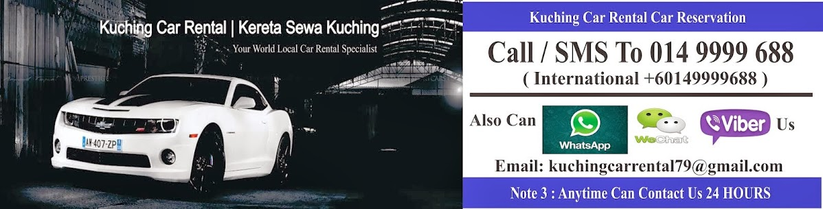Kuching Car Rental | Kereta Sewa Kuching - We Try Harder