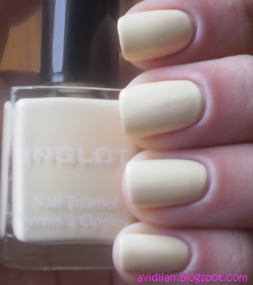 So There You Have Itthis Is A Pastel Yellow Nail Polish That Dries Matte Even Sort Of Rubbery If Thats An Appropriate Description