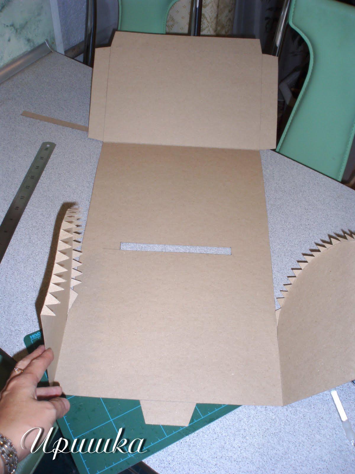 Сундучок своими руками из картона мастер класс