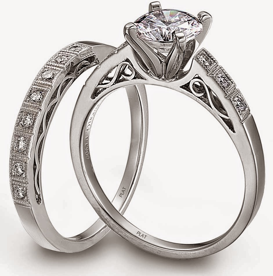 Platinum Diamond Wedding Ring Sets for Him and Her Model pictures hd