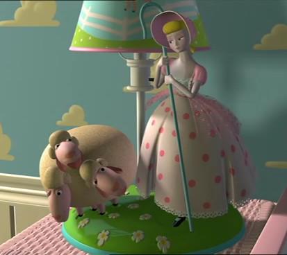 peep bo Toy story