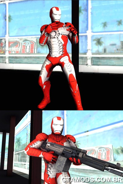 Skin Iron Man 3 Mark 5