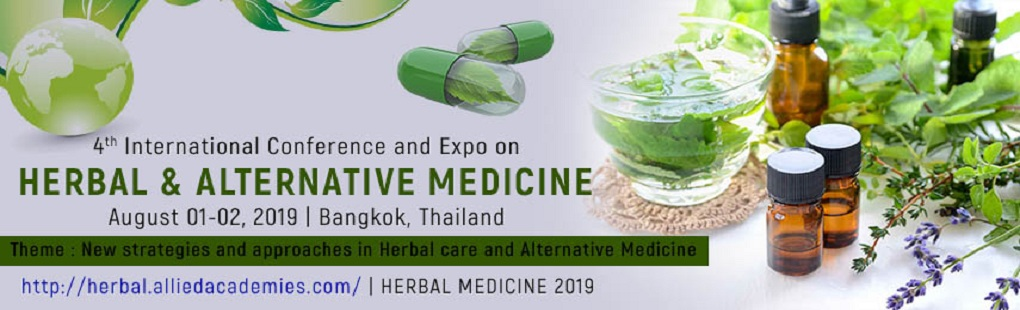 4th International Conference and Expo on Herbal & Alternative Medicine
