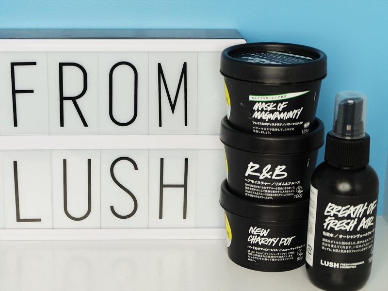 Lush Haul featuring Mask of Magniminty, R&B, New Charity Pot, Breath of Fresh Air
