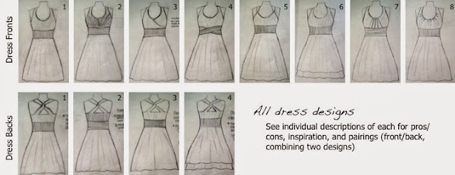 Designing bridesmaid dresses | Bobbins of Basil