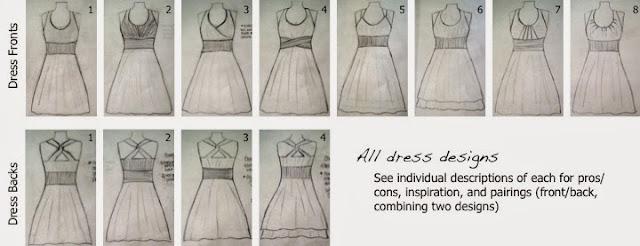 Designing bridesmaid dresses | Bobbins of Basil