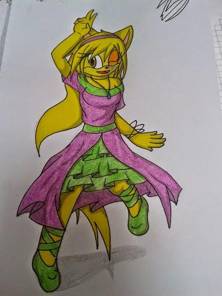 aqui el regalo de Moka coloreada XDU X3