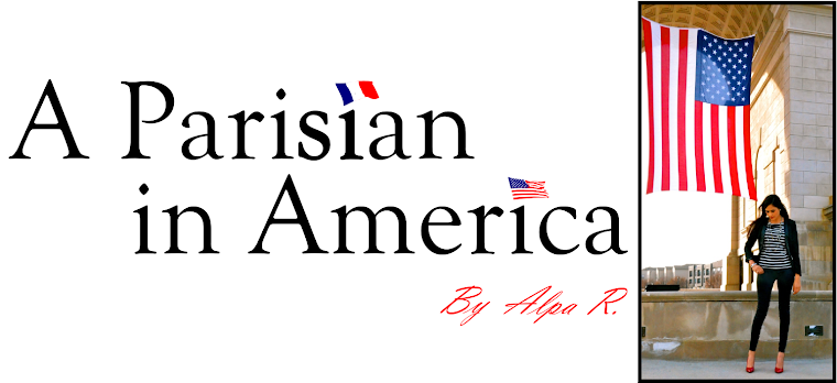 A parisian in America by Alpa R
