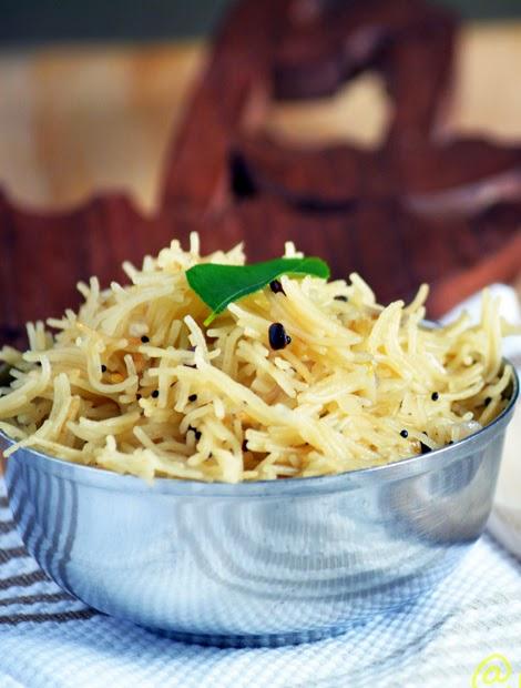 Semiya Upma Recipe / Vermicelli Upma Recipe