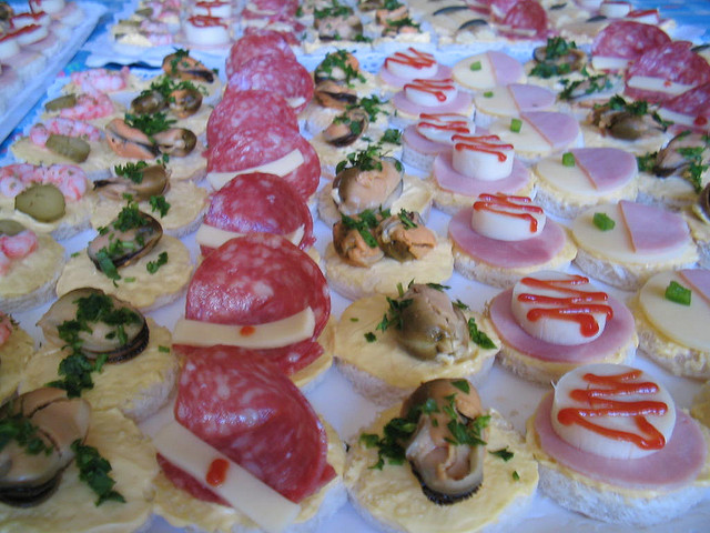 Carocatering canap s for Canape para coctel