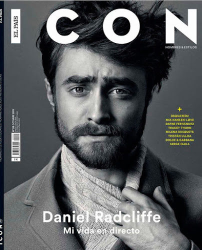 Daniel Radcliffe by Michael Schwartz para Icon Magazine.
