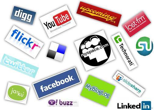 list of social network sites