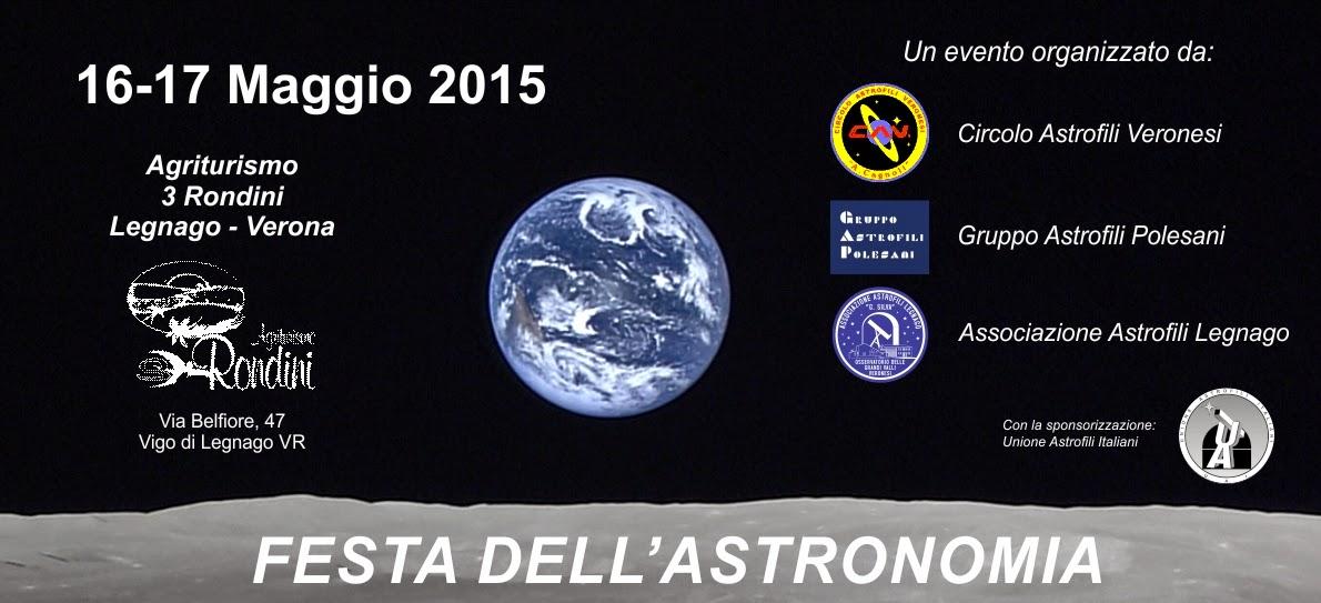 FESTA DELL'ASTRONOMIA 2015