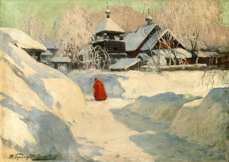 Ivan Goryushkin-Sorokopudov [Горюшкин-Сорокопудов Иван Силыч ] 1873-1954 - Russian painter