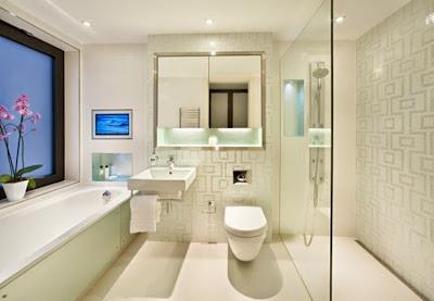 Design Kamar Mandi Rumah Minimalis yang Mungil nan Elegan