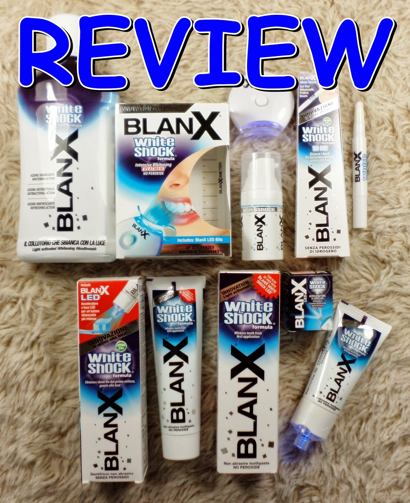 BlanX White Shock Review