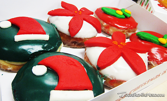 Foodie from the Metro - GoNuts Donuts Christmas Sweet N' Merry and Holly Mallowy