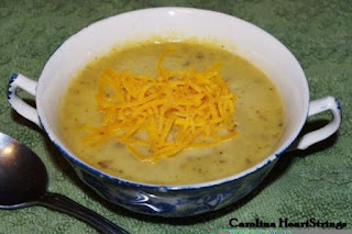 Potato Broccoli Cheese Soup
