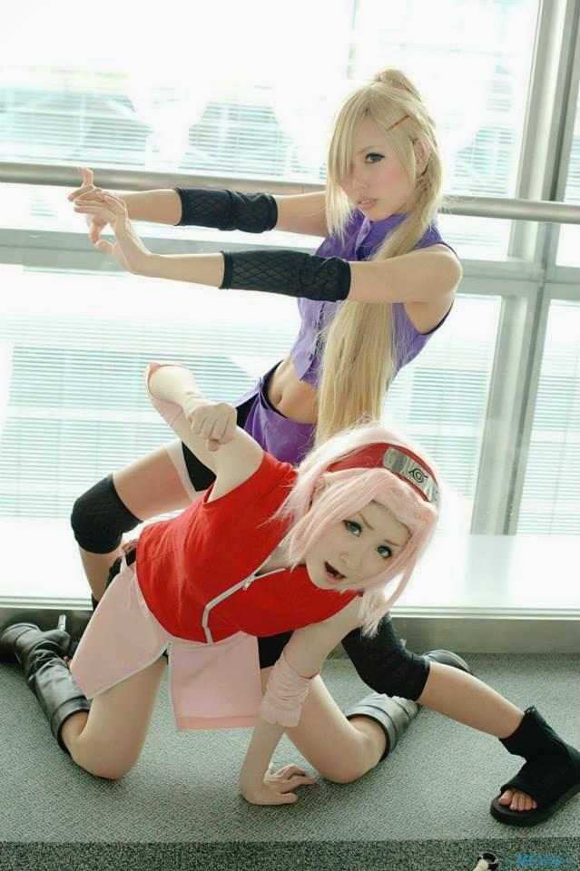 cosplay da sakura haruno