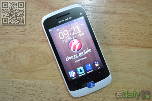 cherry mobile w3 front