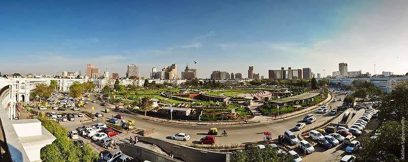 Connaught Place - New Delhi, Central Square, India