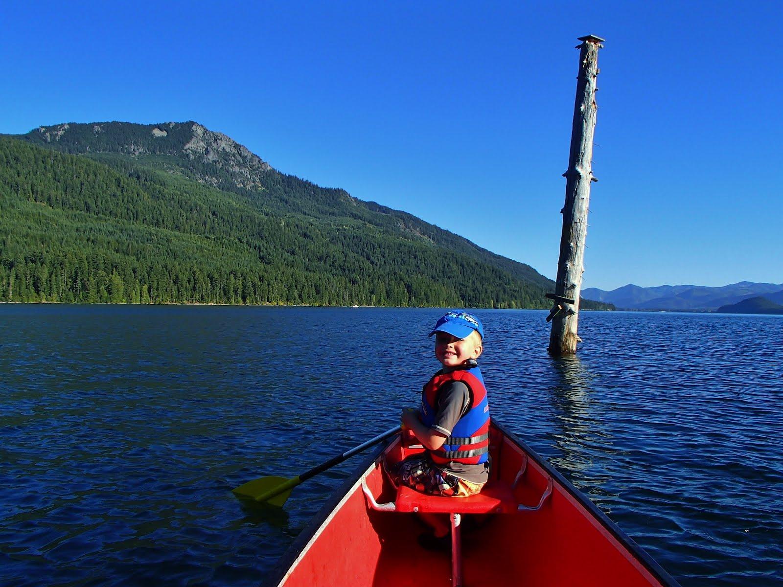 Canoe Camping On Little Kachess Lake - Washington Adventures