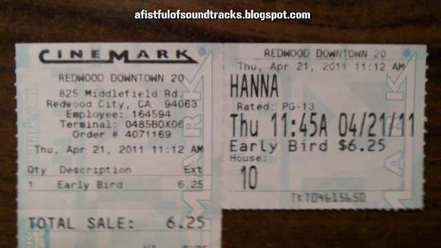 I like any movie where the title sounds like it came from the filmmakers drunkenly listening to 'The Name Game' one night. 'Hanna, Hanna, bo-banna, banana-fanna-fo-fanna.'