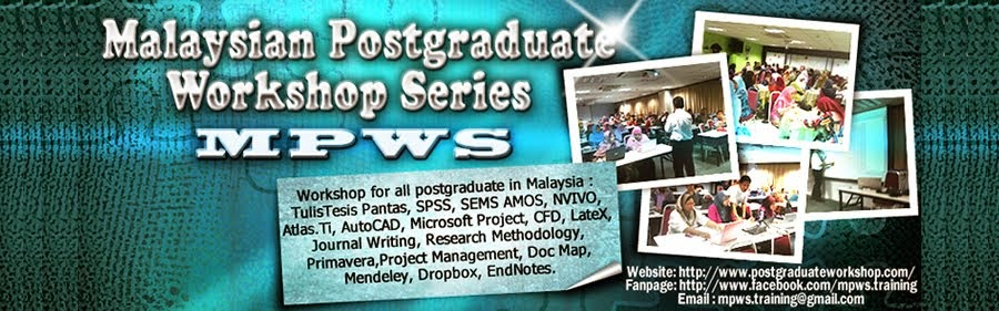 Malaysian Postgraduate Workshop Series (MPWS)
