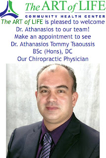 The ART of LIFE Community Health Centre welcomes Dr. Athanasios to our team, image by theartlife.ca