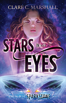 Cover Reveal: Stars in her Eyes (Sparkstone #1) by Clare Marshall