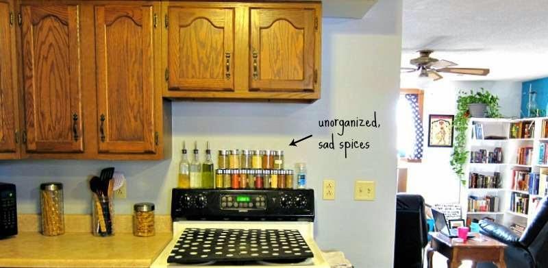 Mueblesdepalets.net: Construye un organizador de especias para tu cocina