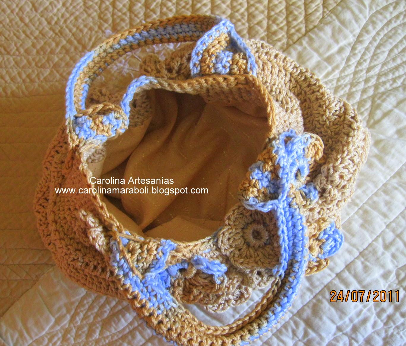 Etiquetas: Carteras/Bolsos Crochet , Crochet.