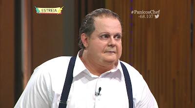 Carioca como Erick Jacão no Pânico´s Chef - Divulgação/Band