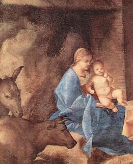 "Detalhe de ""Anbetung der der Drei Heiligen Könige"""