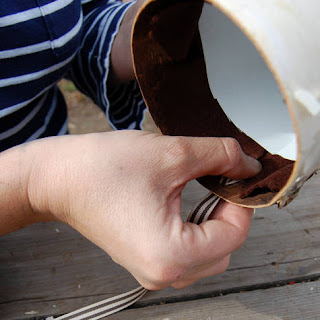como hacer una maceta colgante