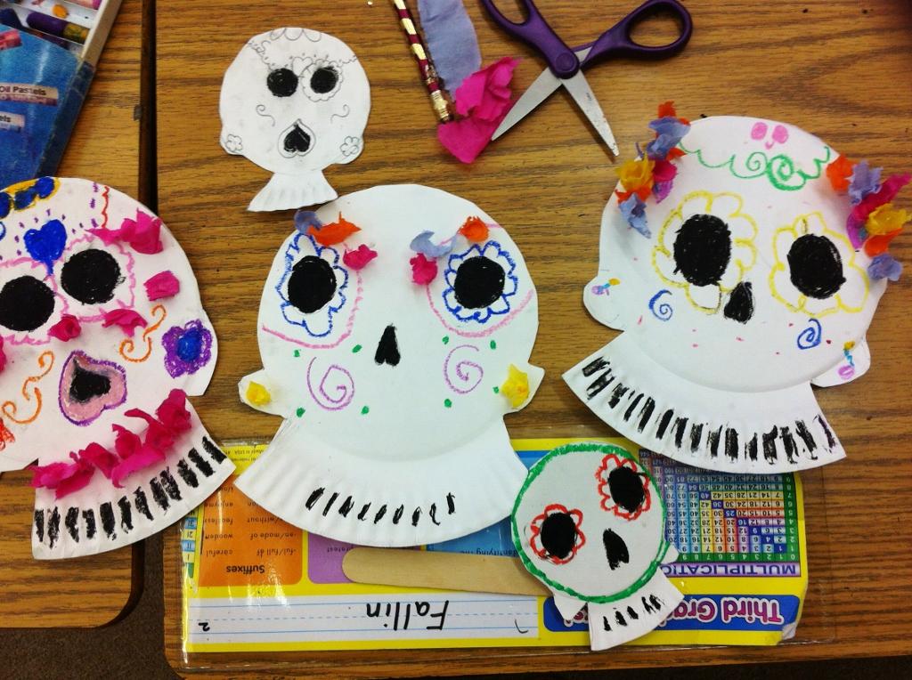 & sketchy notions : sugar skull masks