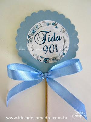 Decoração de festa 90 anos