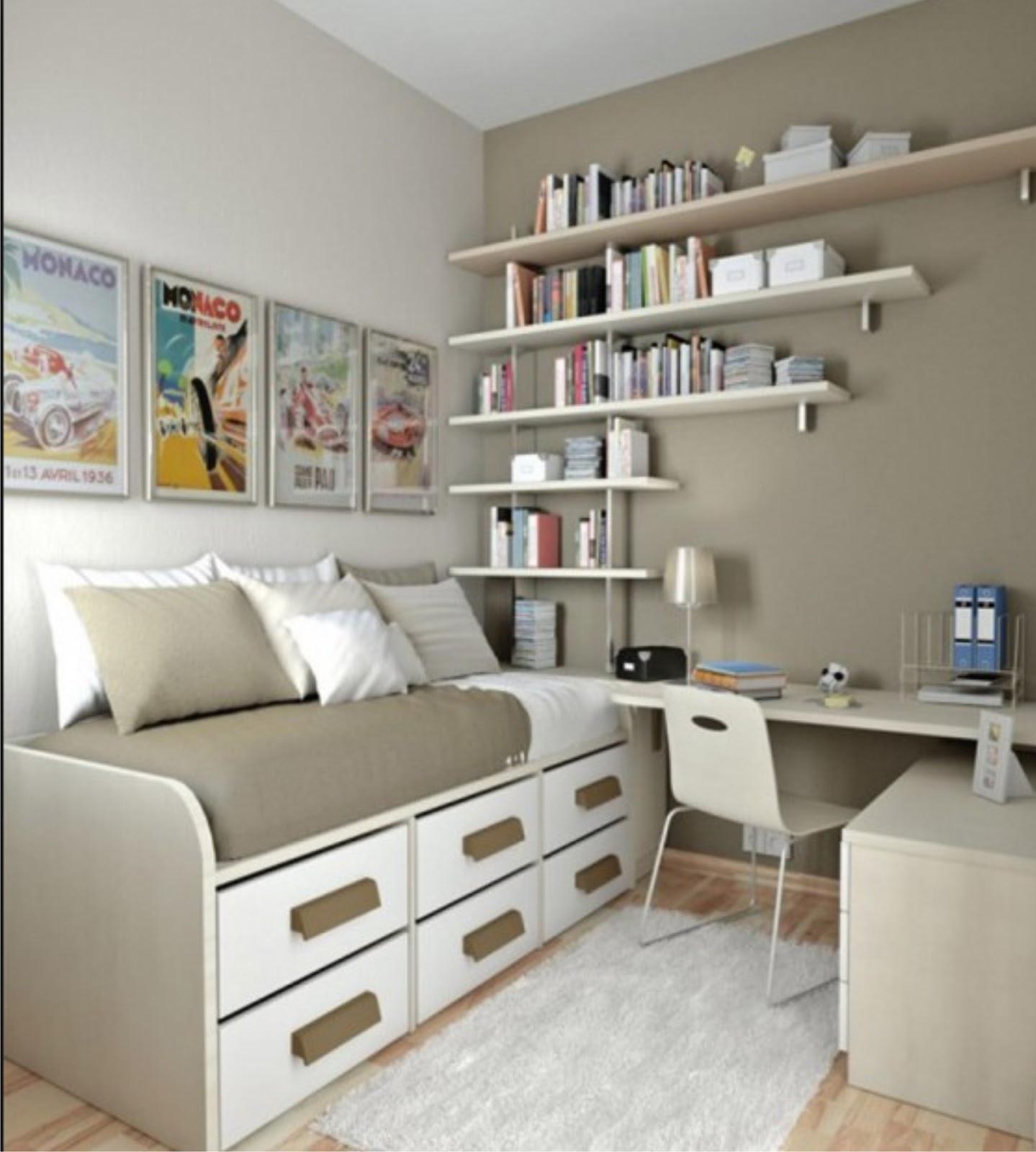 Tempat+tidur+sempit+warna+putih