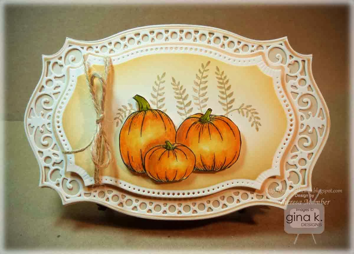 crafting the web  majestic autumn card making tutorial