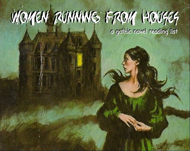 Women Running from Houses