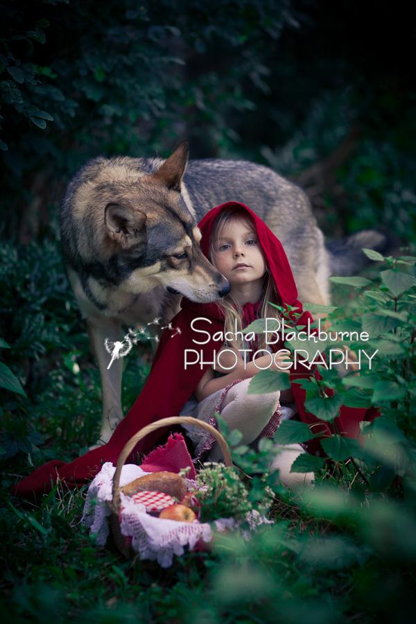 Sacha Blackburne Photography Little Red Riding Hood