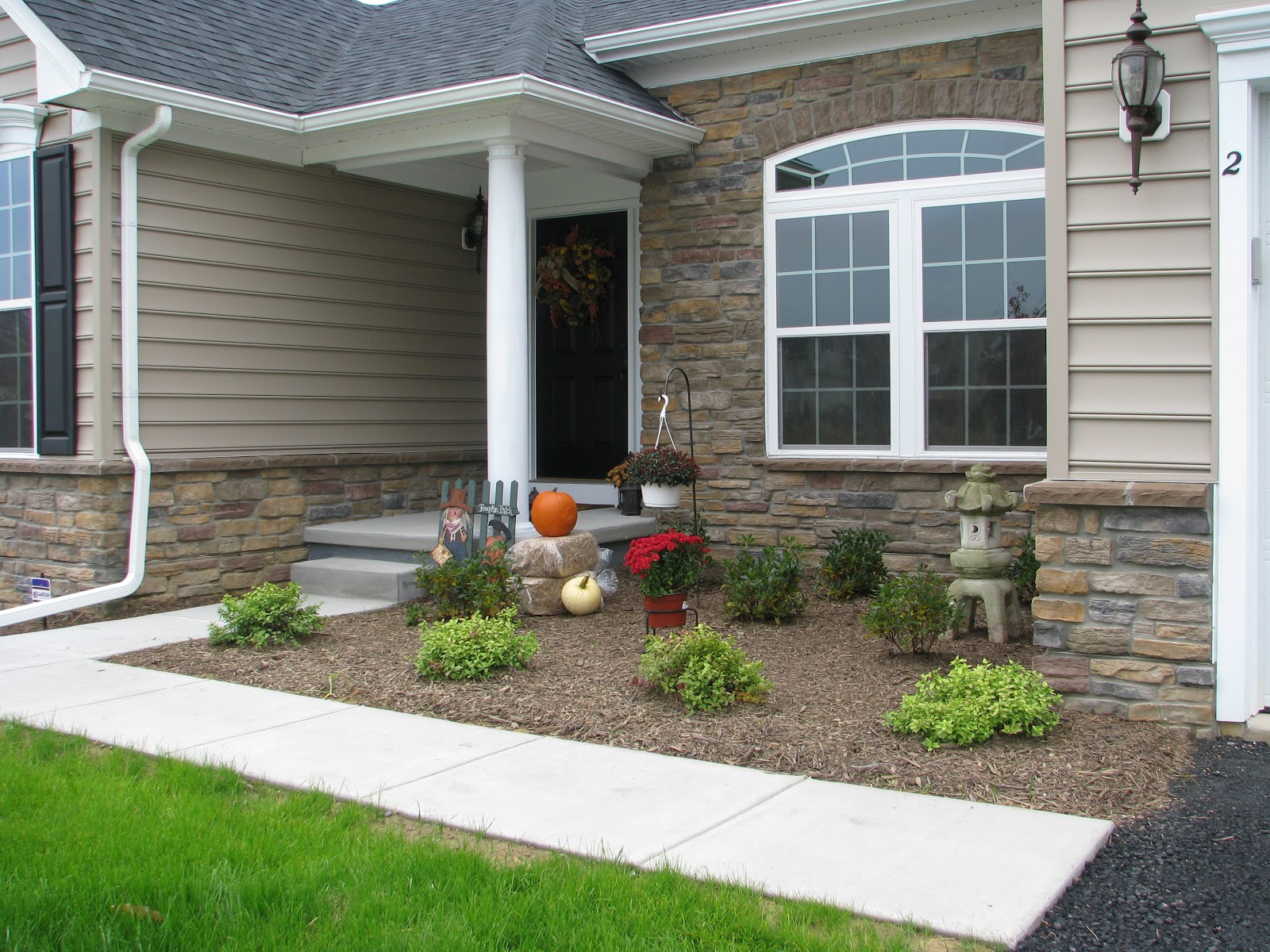 Designs by pinky welcome to our new home for Stone front house designs