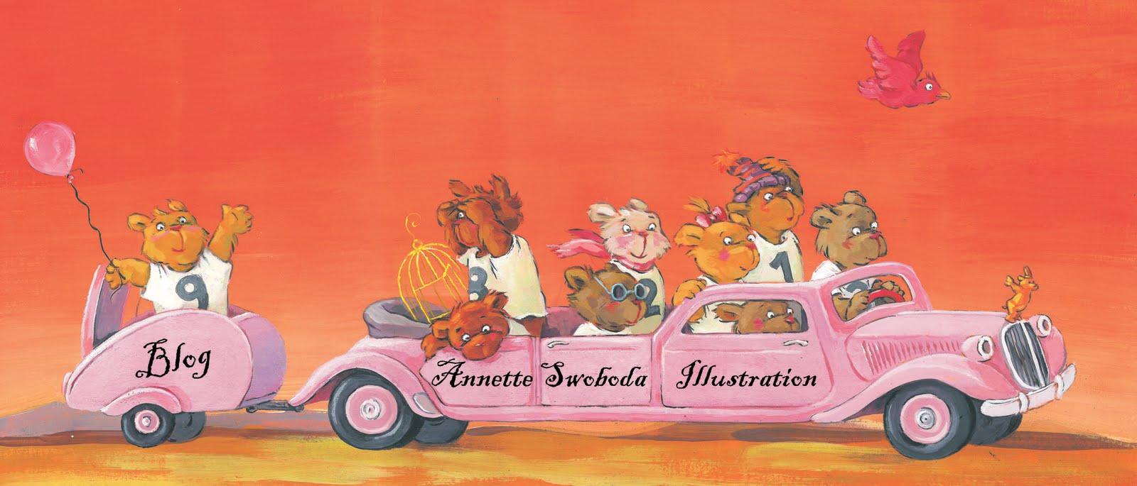 Annette Swobodas BÜCHERBLOG