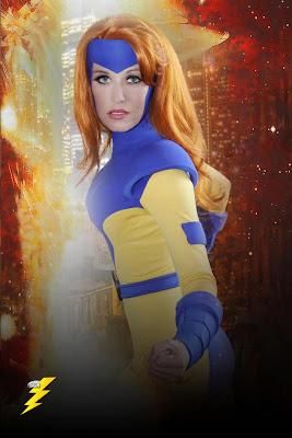 Scruffy Rebel as X-Man Jean Grey
